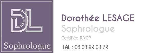 Dorothée LESAGE, Sophrologue Logo